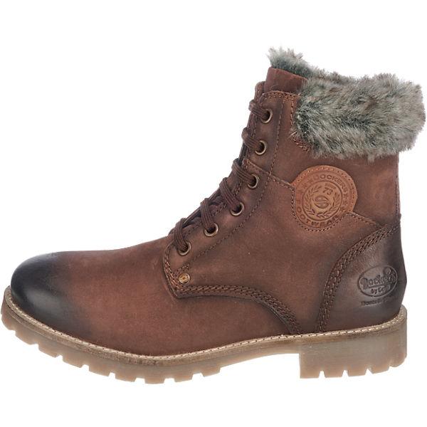 Dockers by Gerli, Dockers by Gerli 41HL301-350320 Stiefeletten, braun  Gute Qualität beliebte Schuhe