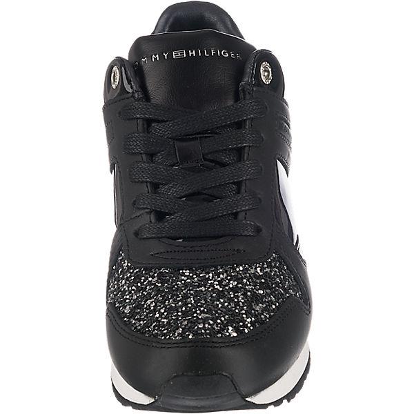 TOMMY HILFIGER TOMMY HILFIGER Sady Sneakers schwarz-kombi