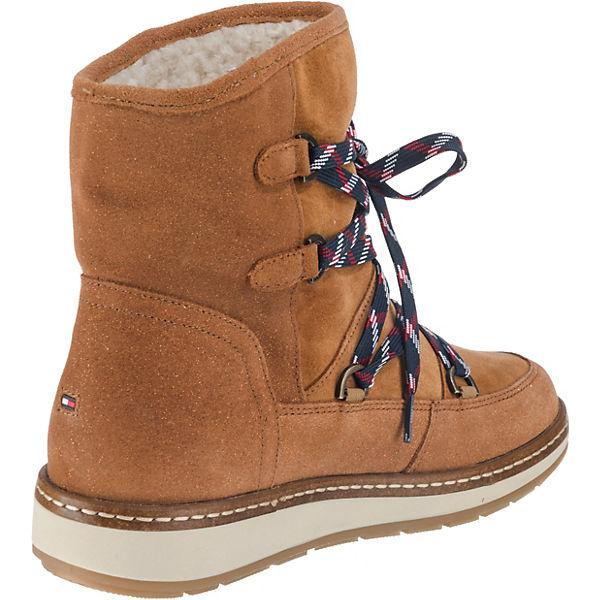 TOMMY HILFIGER TOMMY HILFIGER Wooli Stiefeletten braun  Gute Qualität Qualität Qualität beliebte Schuhe 8a17e9