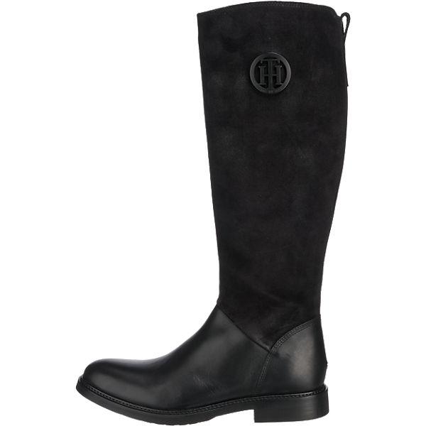 TOMMY HILFIGER, TOMMY HILFIGER Holly Stiefel, schwarz  Gute Qualität beliebte Schuhe