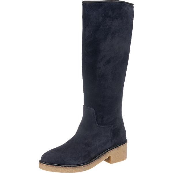 Neu-Seeland Angebote TOMMY HILFIGER Mia Stiefel dunkelblau Damen Gr. 38