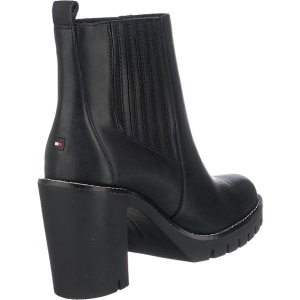 TOMMY HILFIGER, TOMMY HILFIGER Paola Stiefeletten, beliebte schwarz  Gute Qualität beliebte Stiefeletten, Schuhe 62708d