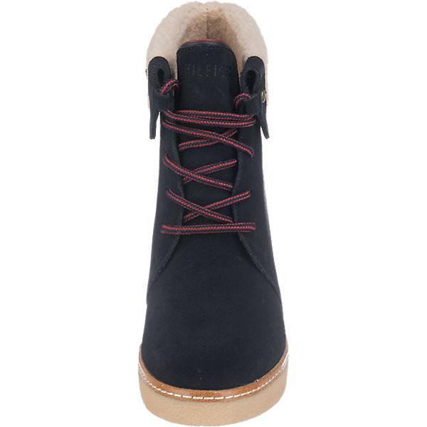 TOMMY  HILFIGER, TOMMY HILFIGER Brandy Stiefeletten, dunkelblau  TOMMY Gute Qualität beliebte Schuhe 12f6a2