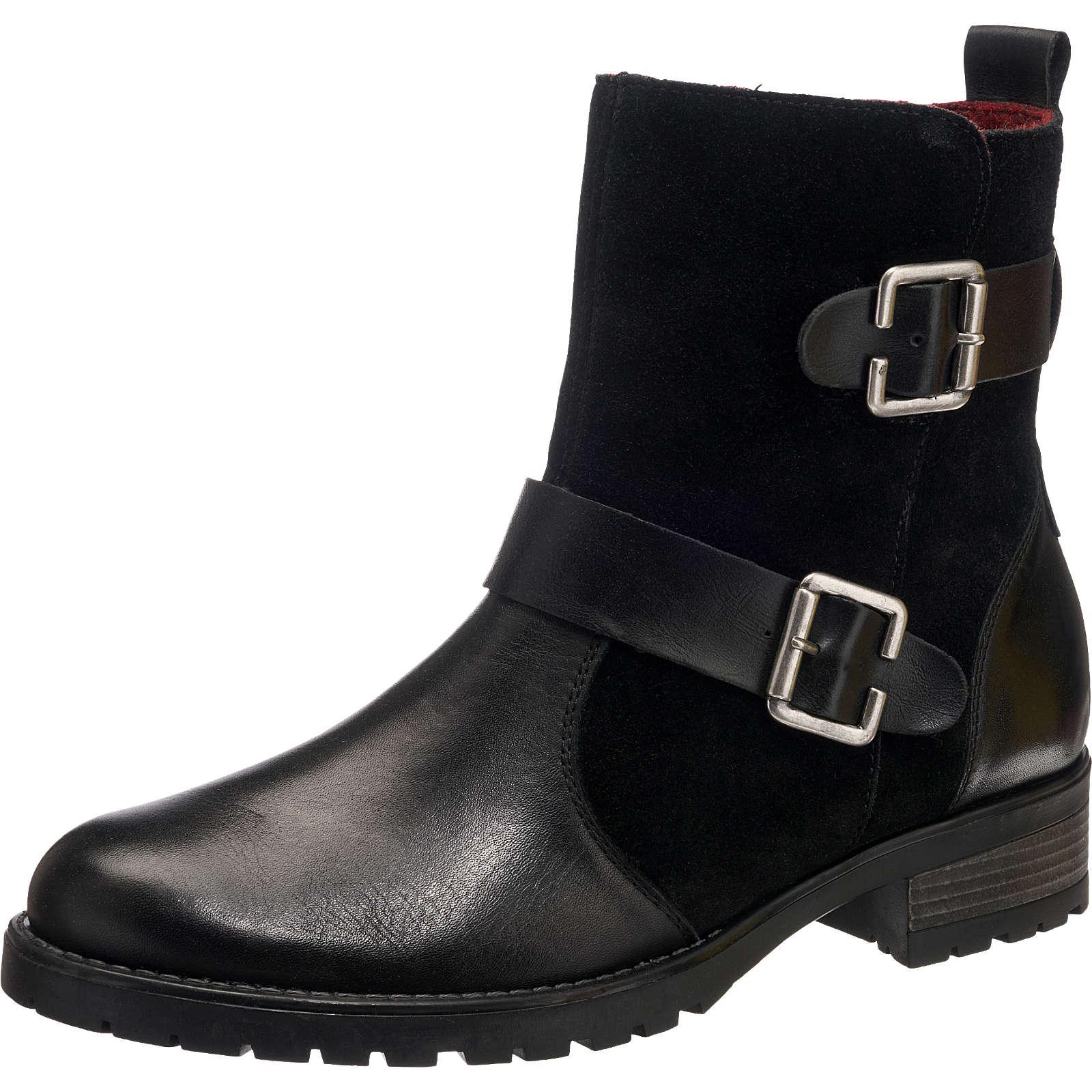 remonte Biker Boots schwarz Damen Gr. 37