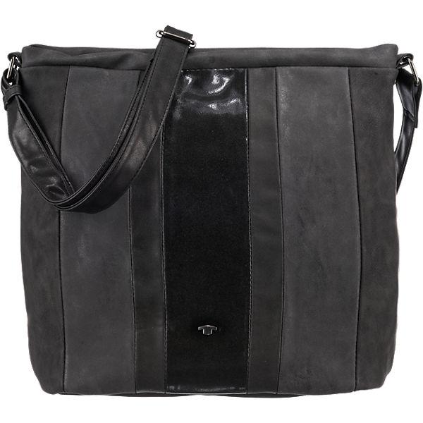 tom tailor tom tailor cleo handtasche schwarz synthetik. Black Bedroom Furniture Sets. Home Design Ideas