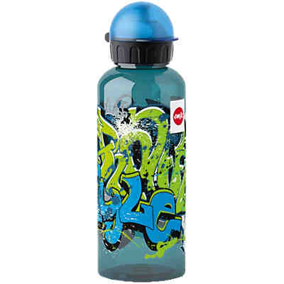 Trinkflasche KIDS TRITAN Graffiti, 600 ml