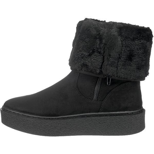 BUFFALO, BUFFALO Stiefeletten, schwarz  Gute Qualität beliebte Schuhe
