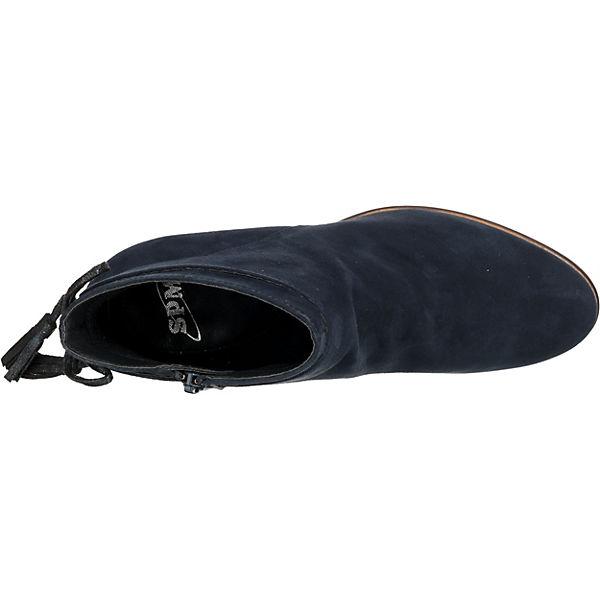 SPM, Klassische Stiefeletten, Stiefeletten, Stiefeletten, dunkelblau  Gute Qualität beliebte Schuhe 9e079e