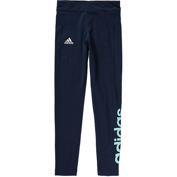 adidas Performance Essentials Sportleggings für Mädchen dunkelblau