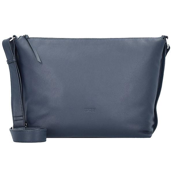 Bree Bree Toulouse 2 Umhängetasche Leder 38 cm blau