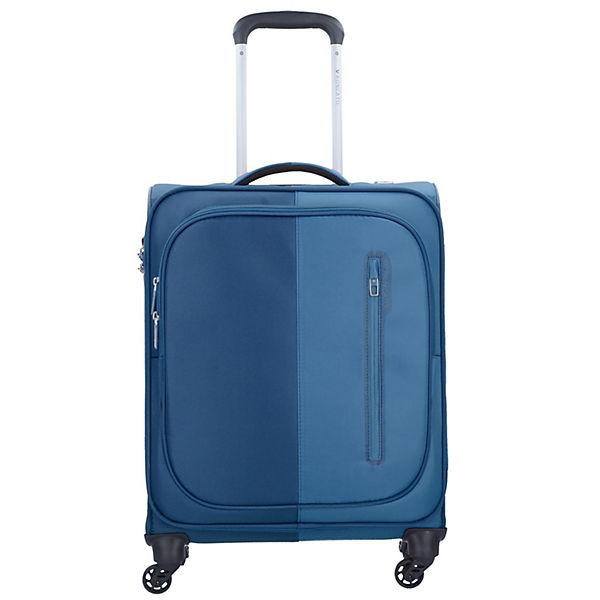 Roncato Roncato Roma 4-Rollen Kabinen Trolley 55 cm blau