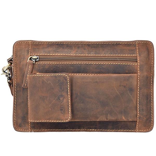 Greenburry Greenburry Vintage Herrentasche Leder 22 cm braun