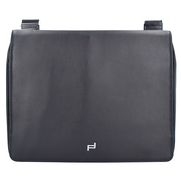 Porsche Design Shyrt ShoulderBag MHF Messenger Leder 36 cm Laptopfach