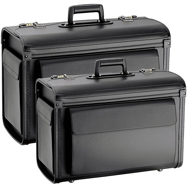 D&N D&N Business & Travel 2 Pilotenkoffer 2-tlg. Set schwarz