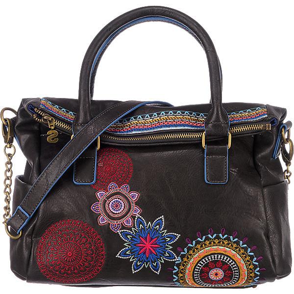 Desigual Loverty Handtasche dunkelbraun