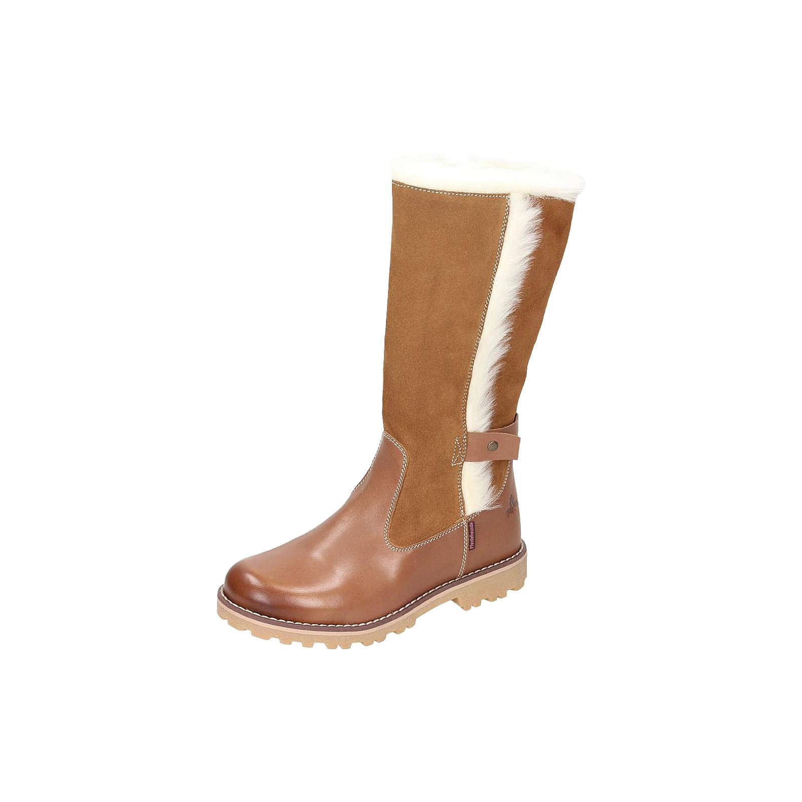 Spiegelburg Pferdefreunde Stiefel für Mädchen, gefüttert hellbraun Mädchen Gr. 38