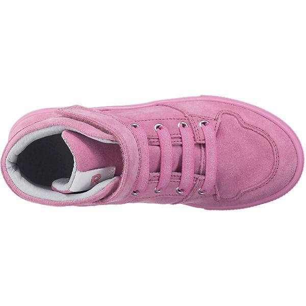RICHTER Sneakers High FitMI für Mädchen rosa