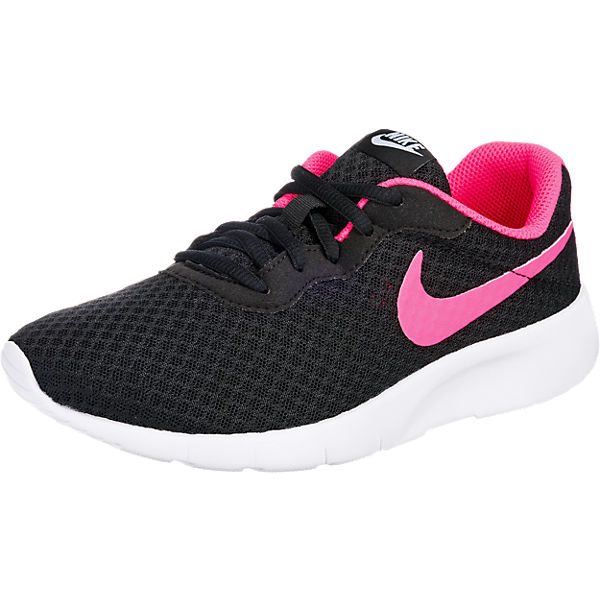 new arrive check out high quality NIKE, Sneakers Low TANJUN (GS) für Mädchen, schwarz/rosa