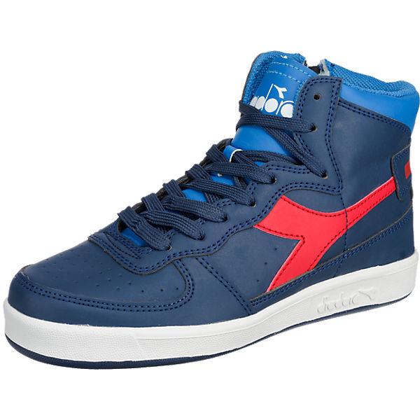 Großkmehlen Angebote Diadora Sneaker MI BASKET II Y für Kinder blau Junge Gr. 35,5