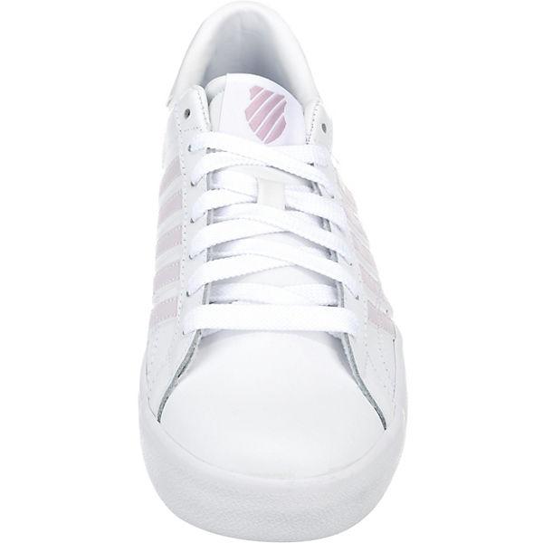 K-SWISS, Belmont  SO Sneakers Low, weiß/grau  Belmont  a6201b