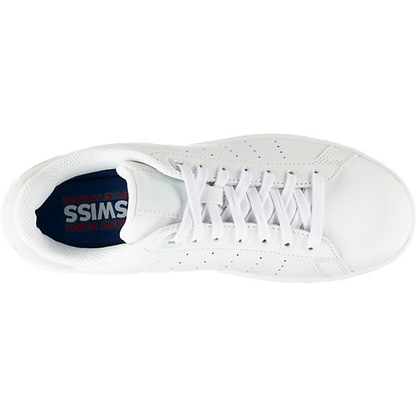 Low weiß kombi Clean SWISS Sneakers Court K q4Tw6T