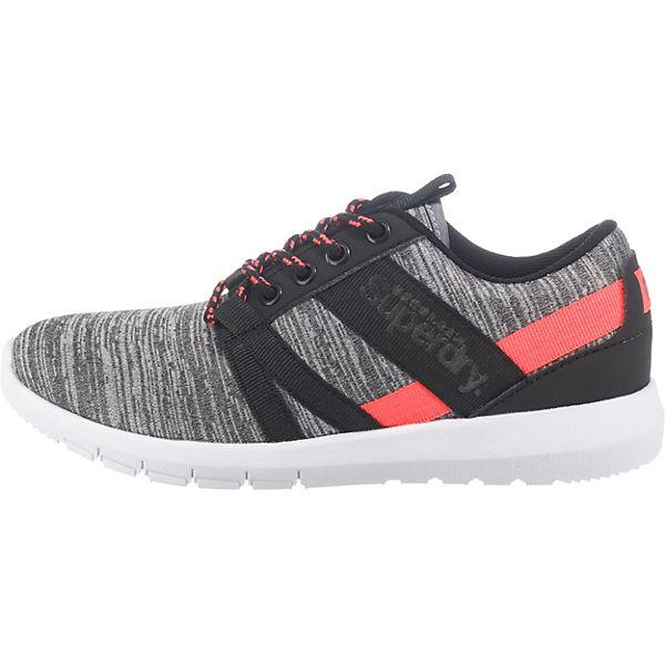 Superdry, Scuba Stadium Trainer Sneakers Qualität Low, grau-kombi  Gute Qualität Sneakers beliebte Schuhe d3058e