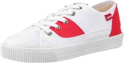 Levi's® Malibu Lady Patch Sneakers Low, weiß, weiß