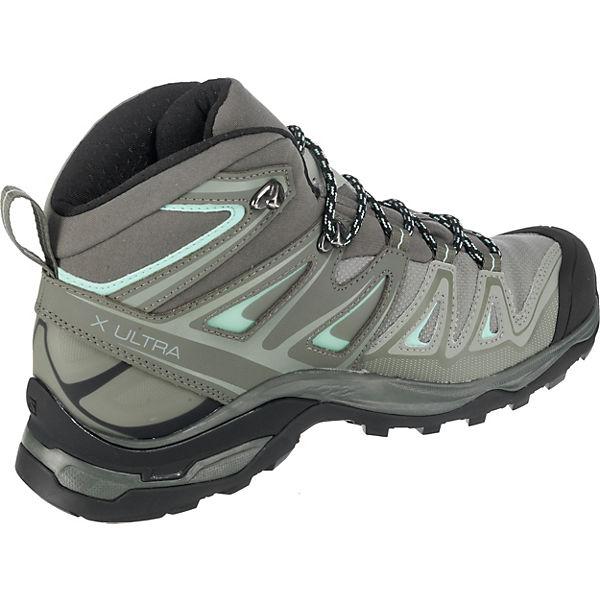 X Schuhe 3 grau Salomon MID Castor GTX® ULTRA SHAD kombi Schnürstiefeletten W Hw5aqdtFa