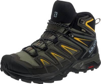 SALOMON X ULTRA 3 GTX Herren Schuhe Outdoor Wander Boots Halbschuhe Gr. 44 Black