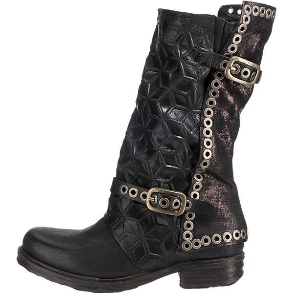 A.S.98 Klassische Stiefel schwarz  Gute Qualität beliebte Schuhe