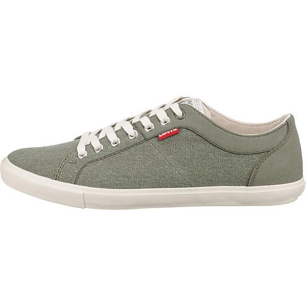 Levi's® Woods Sneakers Low grün