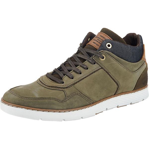BULLBOXER High Sneakers grün BULLBOXER Sneakers Sneakers High BULLBOXER grün wASxqvXHA