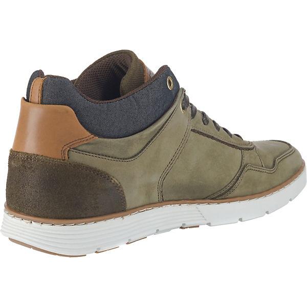 BULLBOXER, Sneakers High, High, Sneakers grün   1d61b2