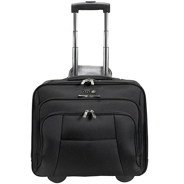 D&N D&N Bussiness & Travel Business-Trolley 41 cm Laptopfach schwarz