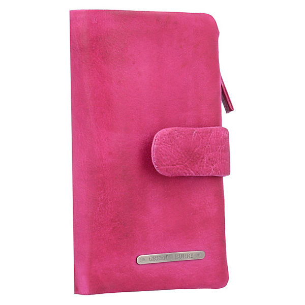 Greenburry Greenburry Dirty Geldbörse Leder 8 cm pink
