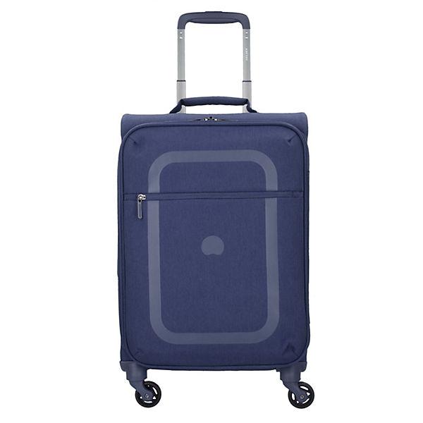 Delsey Delsey Dauphine 4-Rollen Kabinen Trolley 55 cm blau