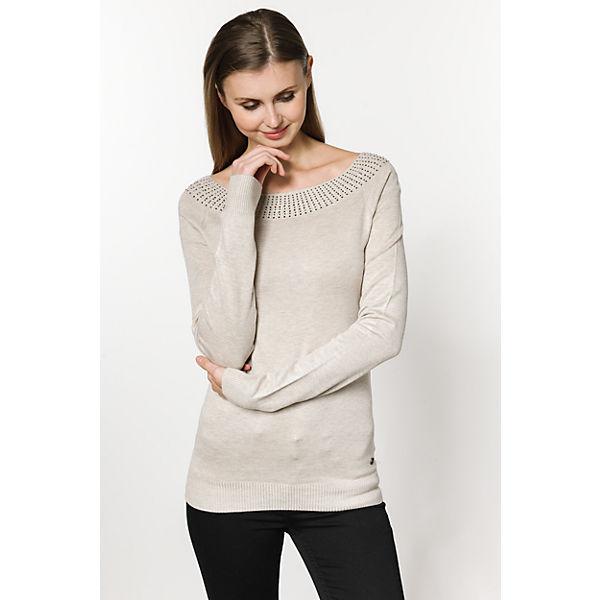 Pullover beige EMOI EMOI Pullover q1wH6fU