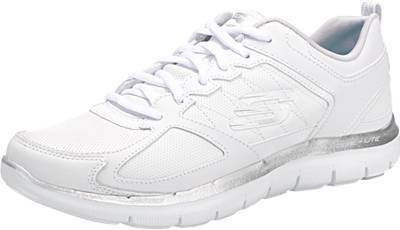 Skechers Damen Flex Appeal 2.0 Good Timing Sneaker Weiszlig; 37 EU