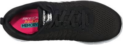 SKECHERS, FLEX APPEAL 2.0 BREAK FREE Sneakers Low, schwarz