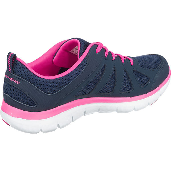 SKECHERS, Low, FLEX APPEAL 2.0 SIMPLISTIC Sneakers Low, SKECHERS, dunkelblau   45580e