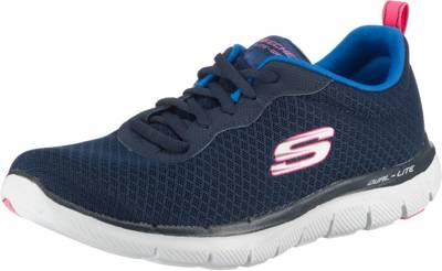 Skechers »Flex Appeal 2.0« Sneaker, mit Memory Foam Decksohle, grau, 36 36