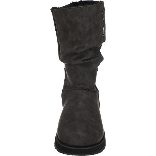 SKECHERS  SKECHERS Keepsakes Leatherette Stiefel schwarz  SKECHERS Gute Qualität beliebte Schuhe e03002