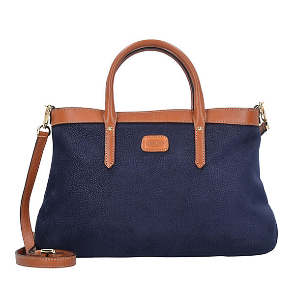 Bric's Bric's Life Allegra Handtasche 36 cm blau