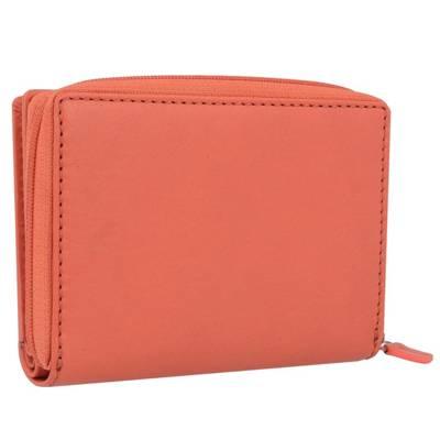 ... mano Mano Geldbörse 13 cm Leder rot ...