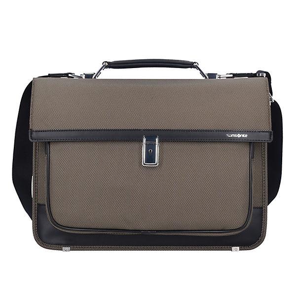 Samsonite Samsonite Fairbrook Briefcase 2 Gussets Messenger Aktentasche 42 cm Laptopfach braun