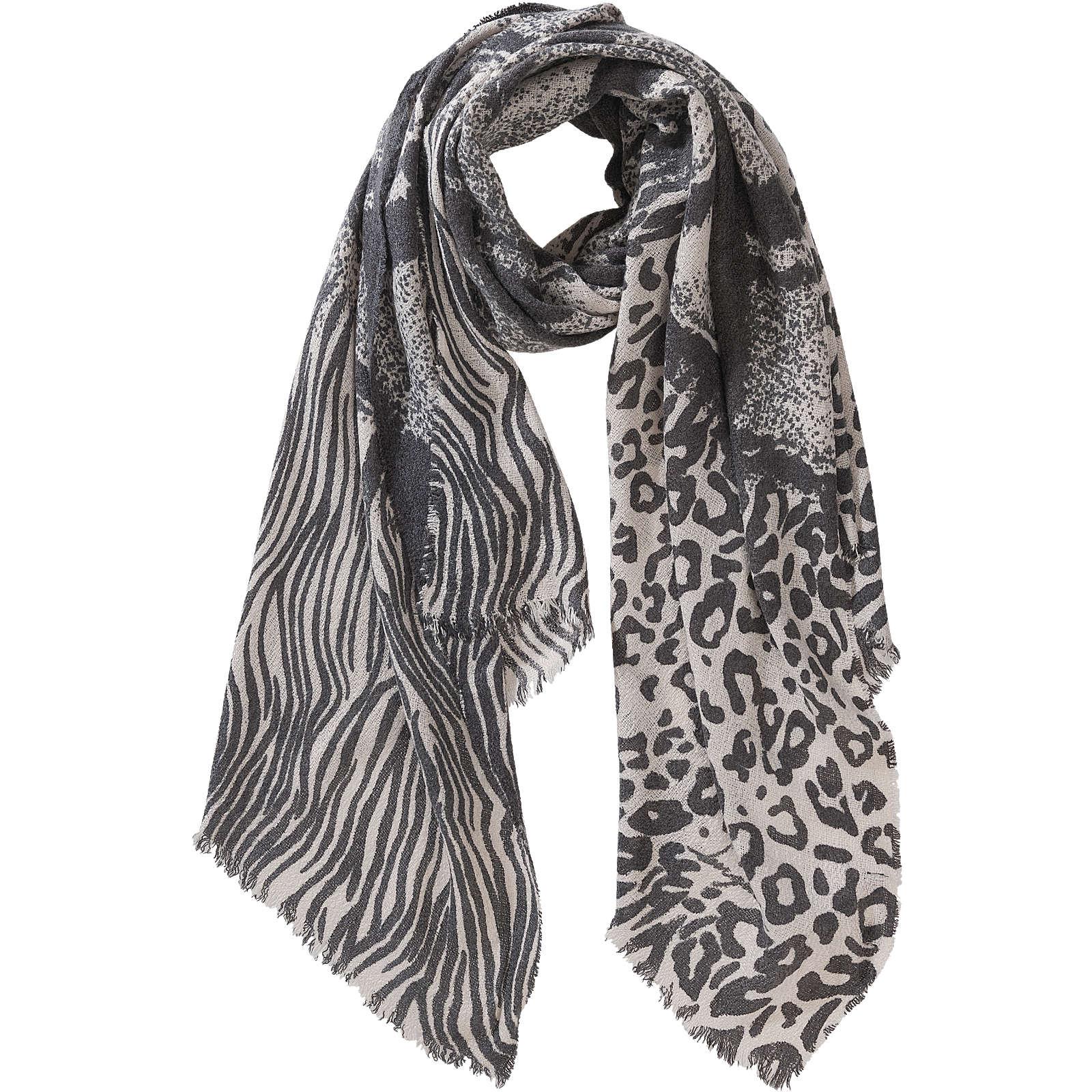 Desigual Schal schwarz Damen