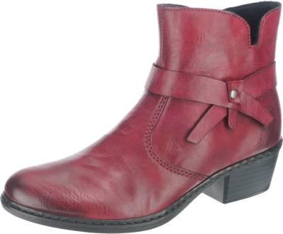 Rieker 96864 Schuhe Damen Stiefel Stiefeletten Ankle Boots  Used Look