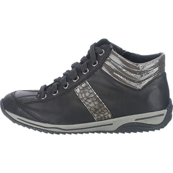 rieker rieker Stiefeletten schwarz-kombi  Gute Qualität beliebte Schuhe