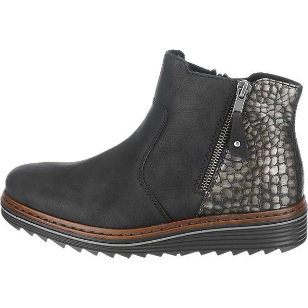 rieker, rieker Gute Stiefeletten, schwarz-kombi  Gute rieker Qualität beliebte Schuhe 931c28