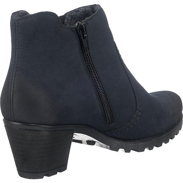 rieker, Chelsea Boots, Boots, Chelsea dunkelblau   c6db67